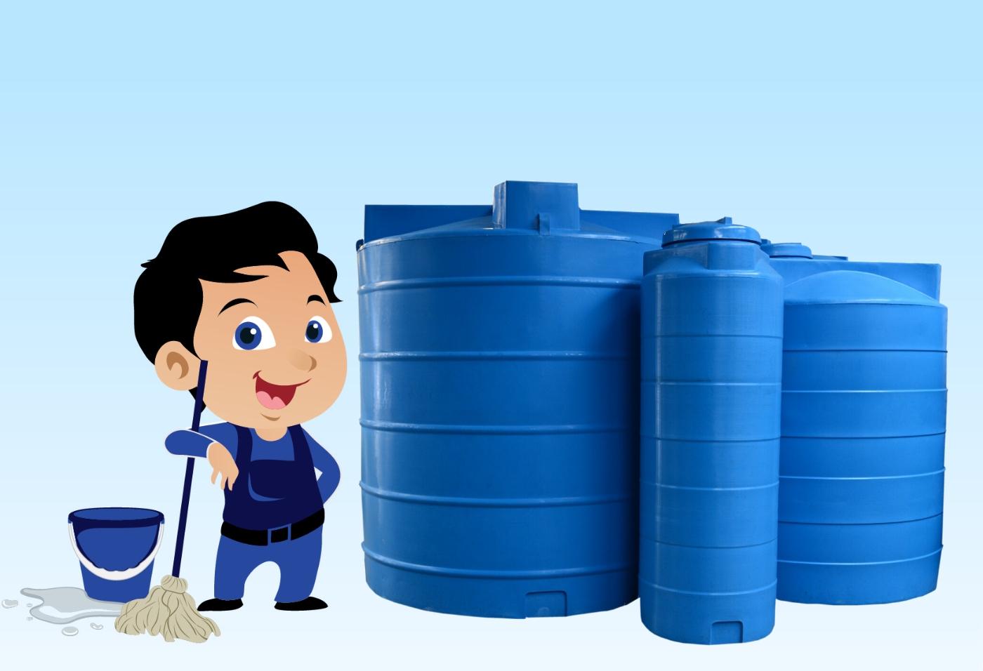 تنظيف الخزانات بالرياض مع التعقيم والعزل